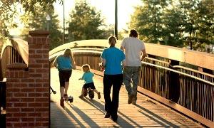 Bild: Familienmobilität im Alltag